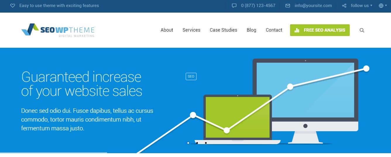 Download Theme untuk Jasa SEO, Theme WordPress Untuk Jasa SEO