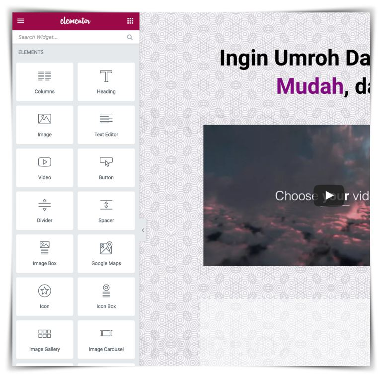 plugin elementor page builder free di indonesia