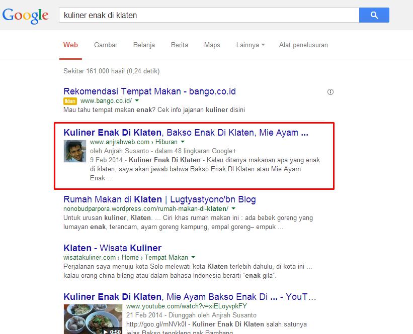 Ebook SEO Gratis Anjrah Web Klaten SEO Kuliner