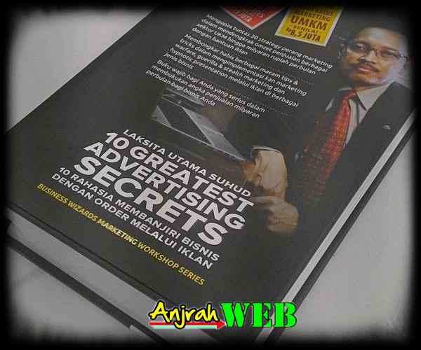 Toko Reseller Agen Dropshipper Jual Buku Laksita Utama Suhud Greatest Marketing Secret