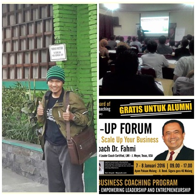 Scaling up forum Malang Dr Imam El Fahmi,Cara Scaling Up Bisnis
