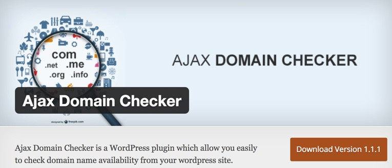 cara mengecek ketersediaan domain plugin wordpress domain checker