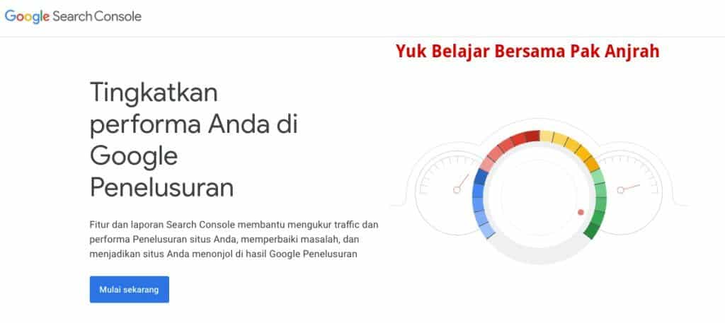 Cara mendaftarkan web website ke google search engine